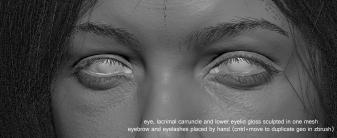 Eye breakdown